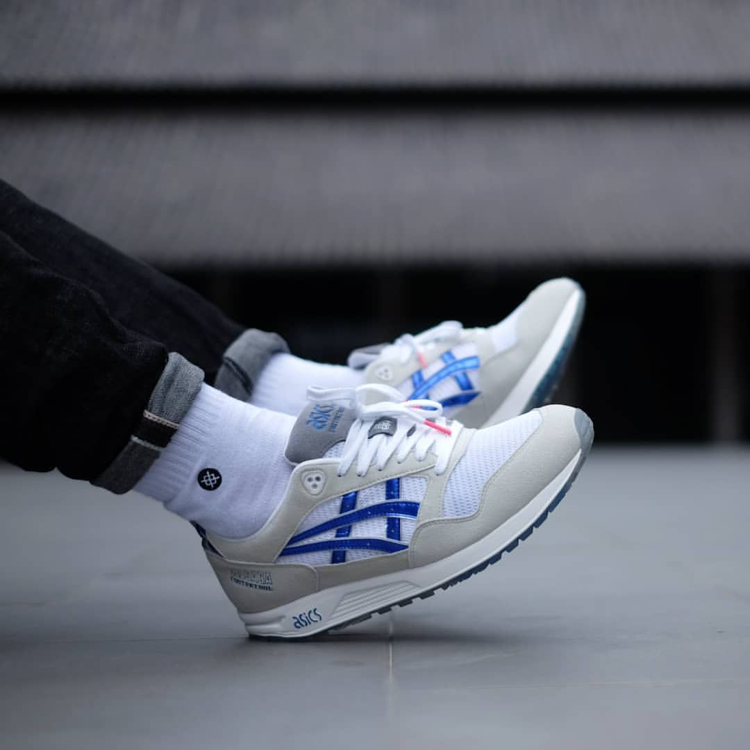 Footpatrol x Asics Gel Saga 'Mecha' | Asics sneaker, Asics