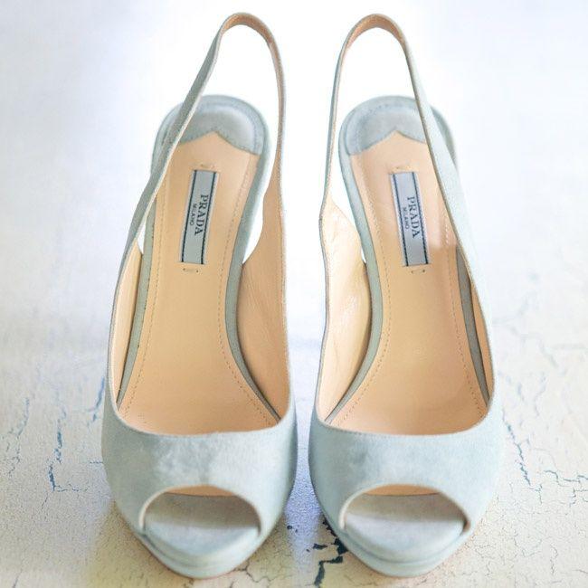 Light Blue Prada Bridal Shoes Bridal Shoes Blue Bridal Shoes Wedding Shoes