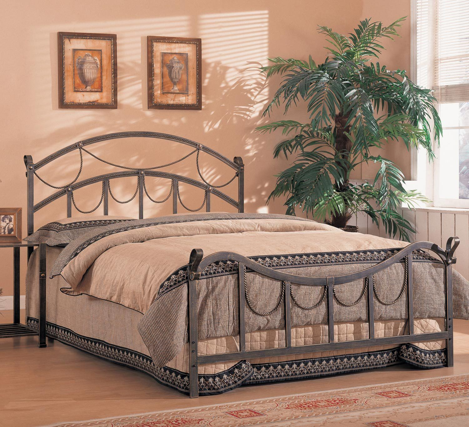 Whittier Queen Metal Bed