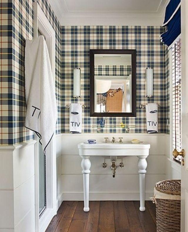 Preppy Bathroom For Boys