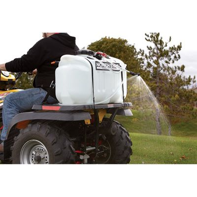 Northstar Atv Boomless Broadcast And Spot Sprayer 26 Gallon Capacity 2 2 Gpm 12 Volts Atv Monster Trucks Landscaping Tools