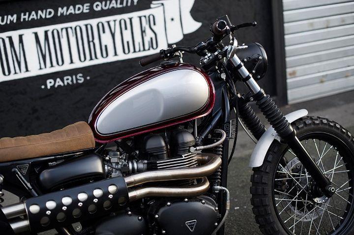 Triumph Scrambler by Clutch Custom Motorcycles #scrambler #motorcycles #motos | caferacerpasion.com