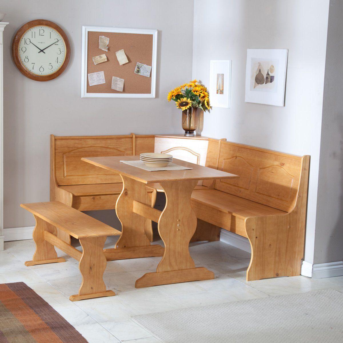Marvelous Linon Chelsea Breakfast Corner Nook Gifts For The Baker Spiritservingveterans Wood Chair Design Ideas Spiritservingveteransorg