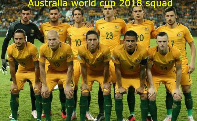 Australia Football Team Squad Fifa World Cup 2018 Russia Fifaworldcup Fifa2018 2018fifaworldcup R World Cup 2018 Teams Fifa World Cup Teams World Cup