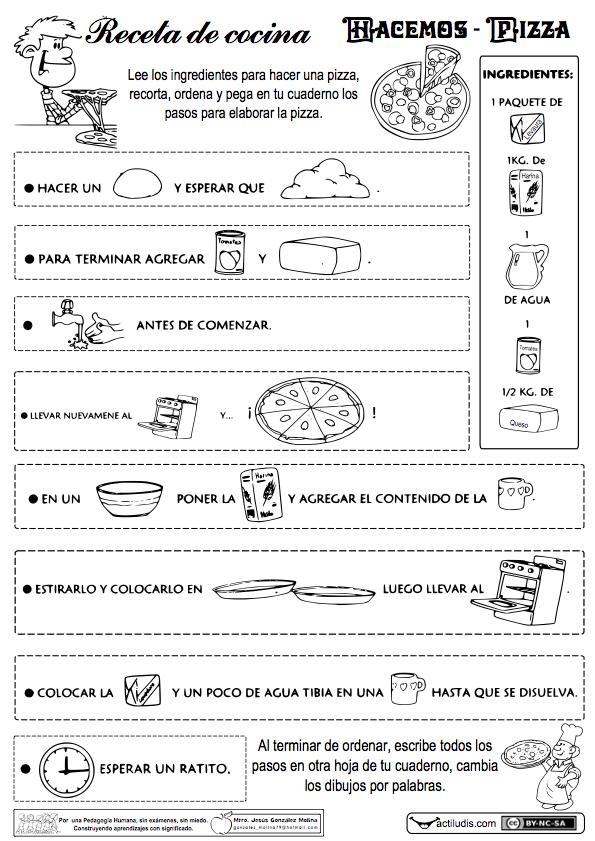 Recetas de cocina 1 actividades pinterest recetas - Grado en cocina ...