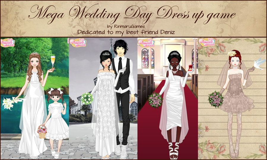 Dress up wedding game at exclusive wedding decoration and wedding popular mega wedding day dress up game by rinmaru junglespirit Images
