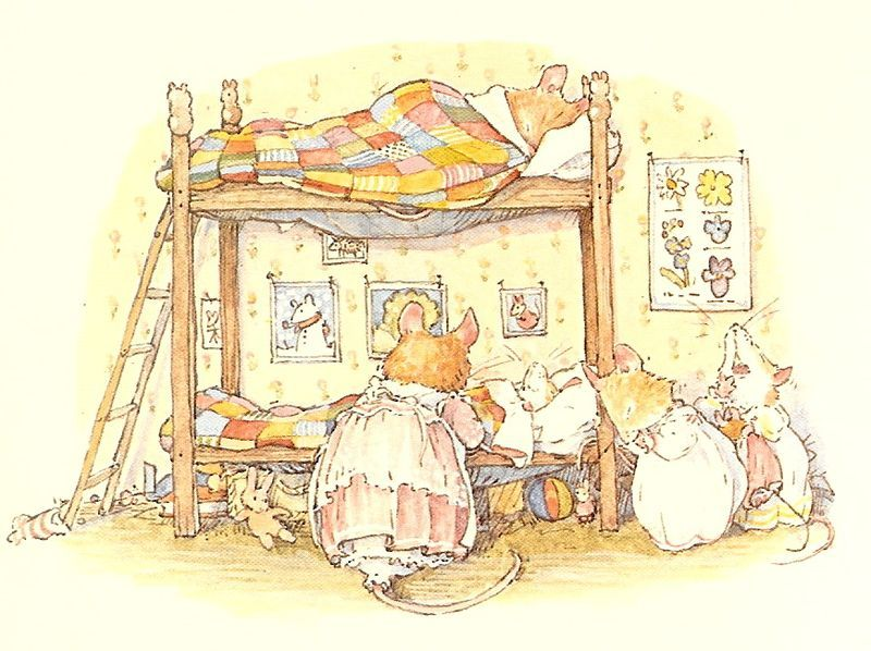 Brambly Hedge Winter Tucked in for the Night