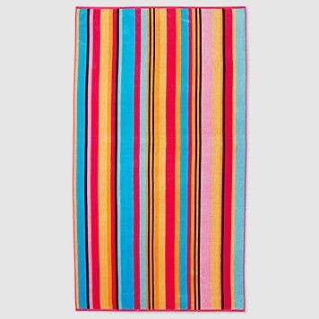 awesome beach towels. Bright Striped Turkish Cotton Beach Towel - Awesome Towels D