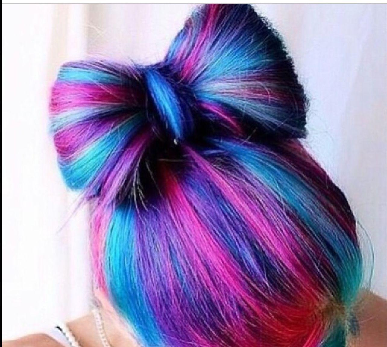 Cute bow hair dream hair pinterest hair coloring dream hair