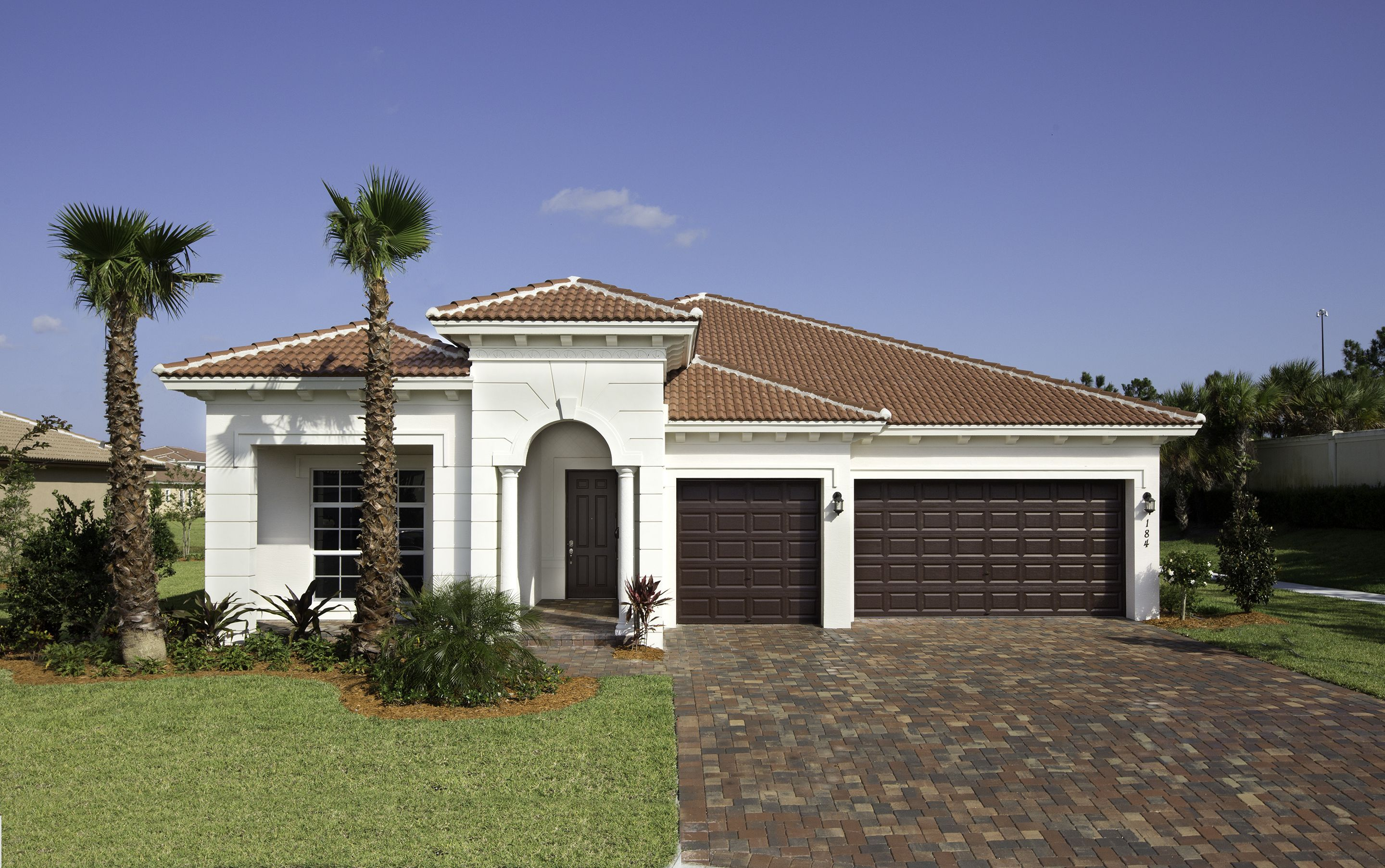 The Monterra Rialto Estates Collection 4 Bed 3 Bath 3 Car Garage 2 838 Ac Sq Ft New Homes House Styles Building A House