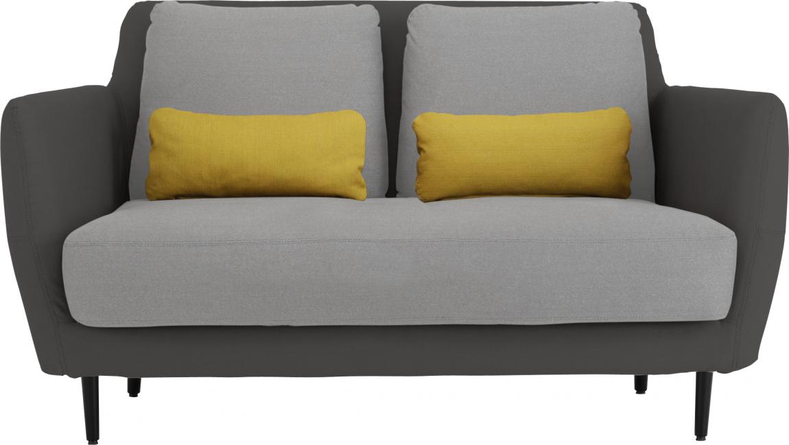 Ella Sofas 2 Sitzer Sofa Mausgrau Stoff Telas Sofas Sofa De 2 Puestos Sillones Para Dos