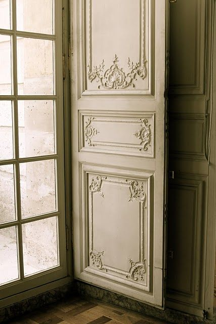 ok, so this is a window/shutter, not a door...but it's GORGEOUS. {Versailles}