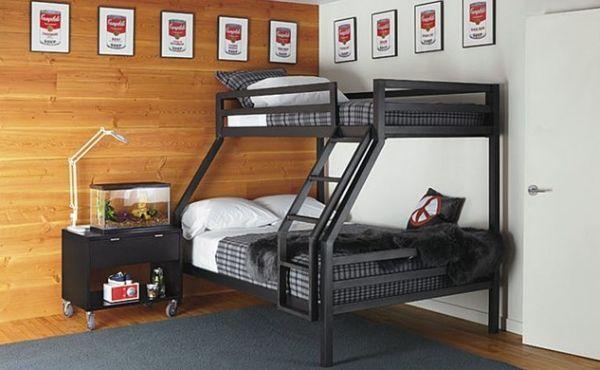 50 моделей двухъярусных кроватей для взрослых и детей и варианты оформления спален с их использованием