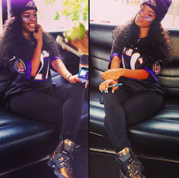 Teyana Taylor in the Teyana Taylor x adidas Originals Harlem GLC