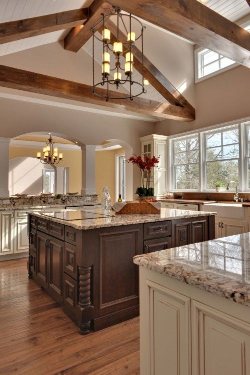 Love The Look Of This With No Upper Cabinets And Tons Of