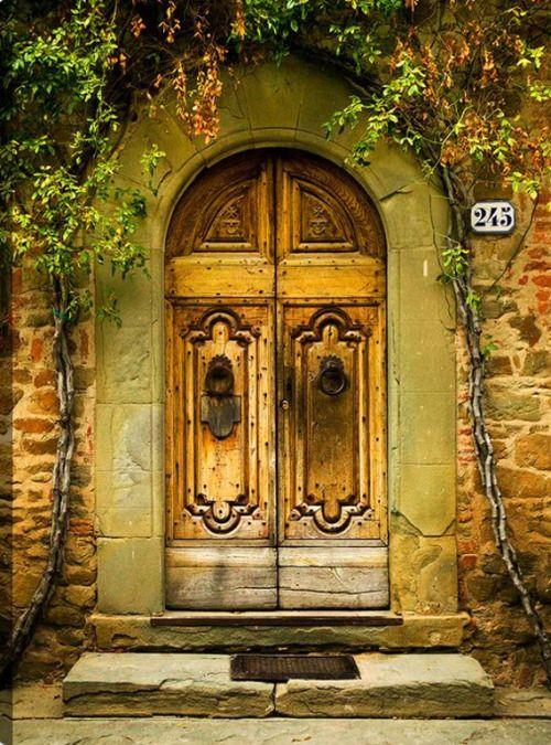 Tuscany | Doors I Fancy | Pinterest | Doors and Architecture