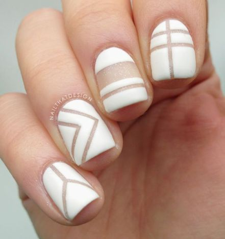 negative space nail designs to try asap  quinceanera