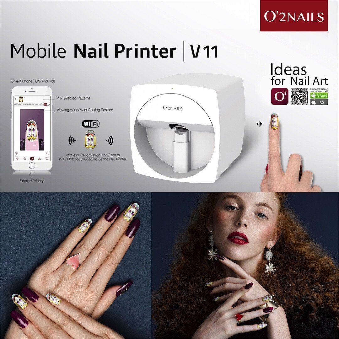 Mobile Nail Printer V11 Nail Printer Mobile Nails Nails
