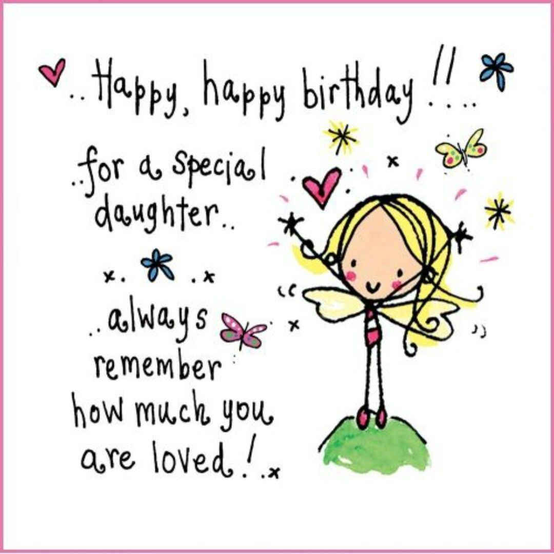 Pin by Palacio on DAUGHTER QUOTES Birthday