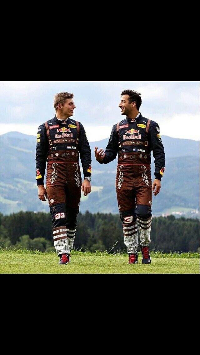 Max Verstappen in stijl in Oostenrijk