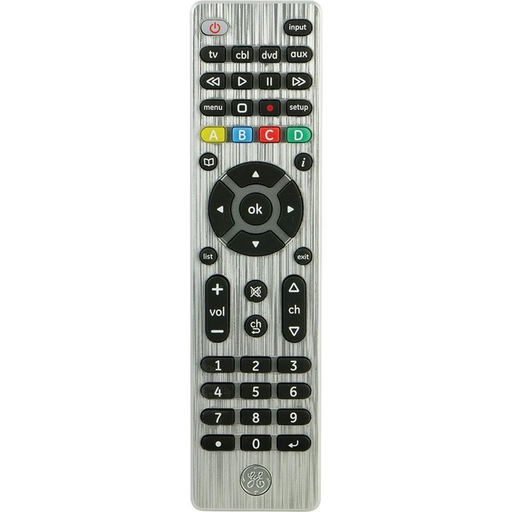 General Electric 4-device Universal Remote Control JAS33709