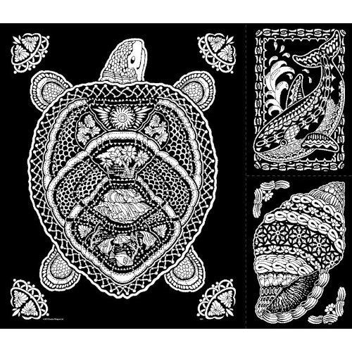 Amazon.com: Geo Turtle - 23x20 Fuzzy Velvet Coloring Poster: Toys & Games Coloring  Books, Fuzzy Posters, Coloring Pages