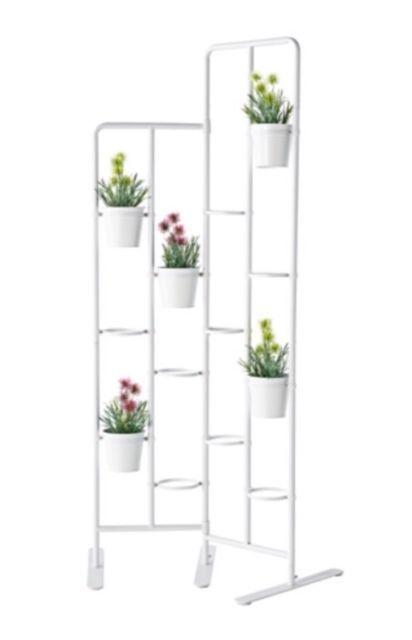 Ikea Socker Plant Flower Pot Stand Room Divider Herbs Kitchen Porch Gray New Screen Plants Ikea Garden Furniture Ikea Plants
