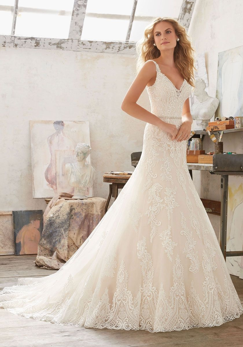 Mori lee madeline gardner wedding dress  Pin by Katy Poyser on wedding dresses  Pinterest  Wedding dress