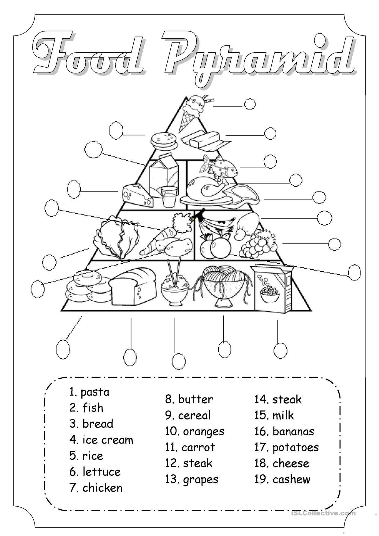 9 Official Health Worksheets For Kindergarten Di