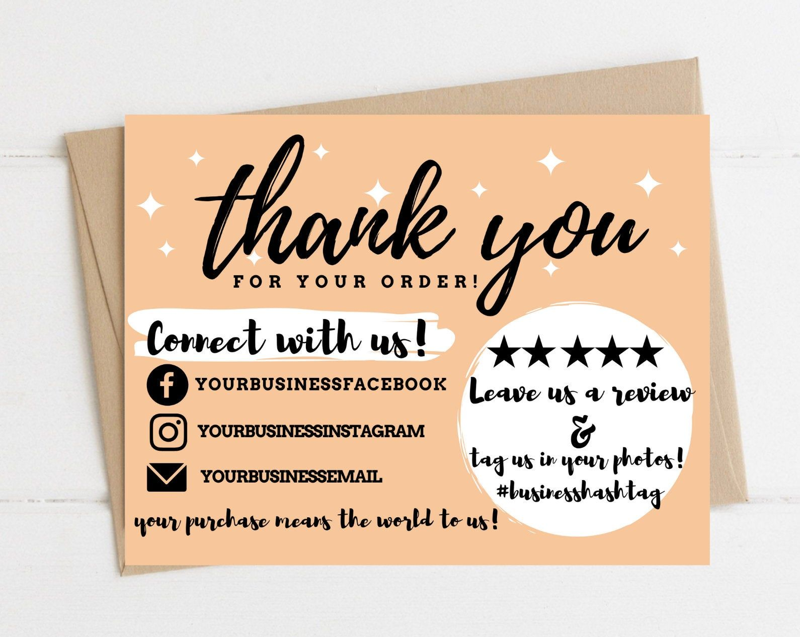 Instant Download Thank You Card Editable And Printable Thank Etsy In 2021 Printable Thank You Cards Thank You Cards Custom Thank You Cards