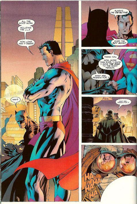 scans_daily   Batman:Hush - Batman vs. Superman