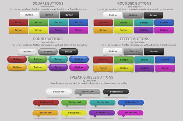 60 PSD Icon and Button Templates | Icons, Template and Web design ...