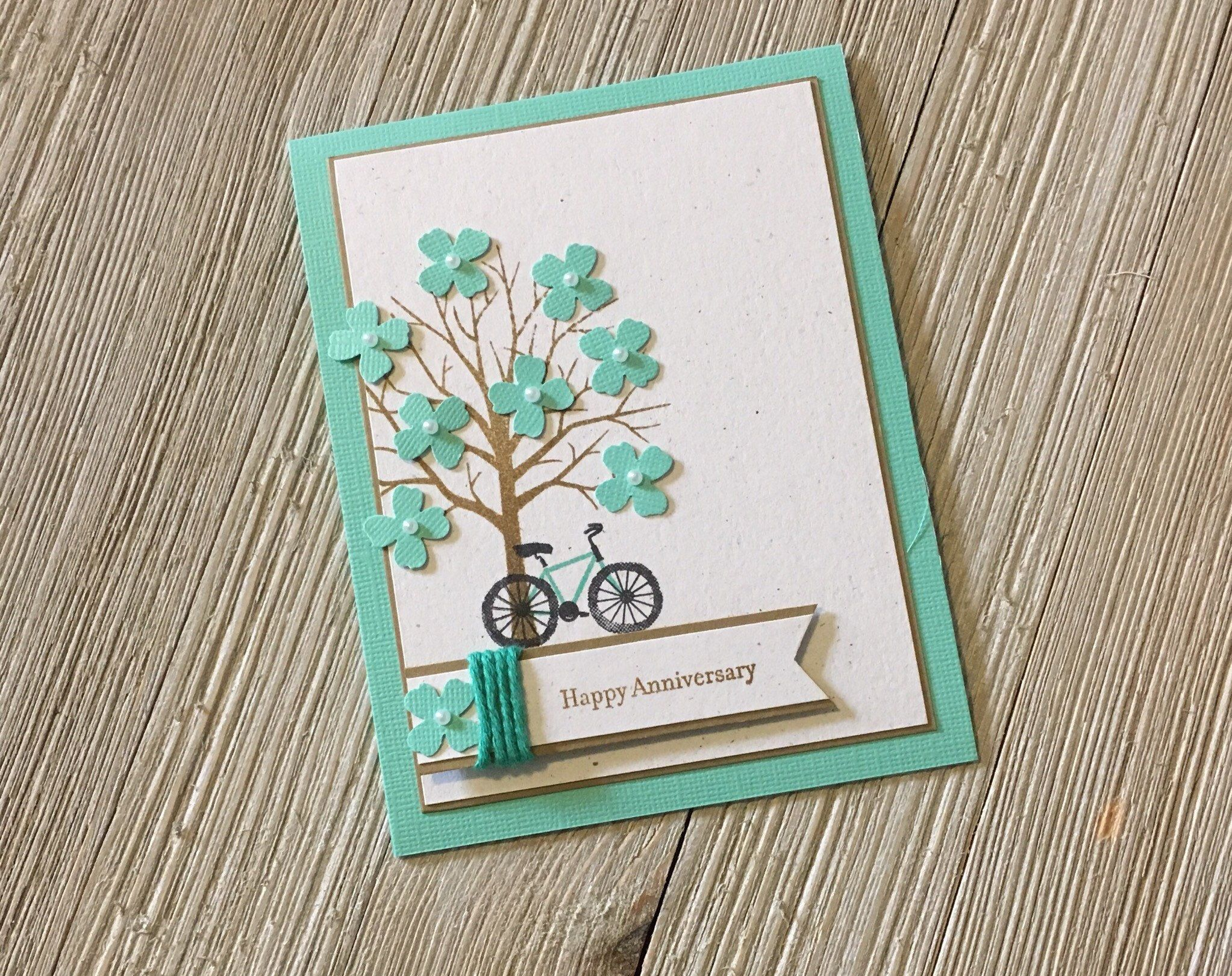 Thinking Of You Cards Newlywed Cards Anniversary Cards Handmade