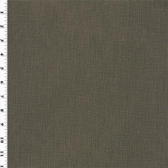 Cross Hatch Vinyl Brownstone Fabric By The Yard