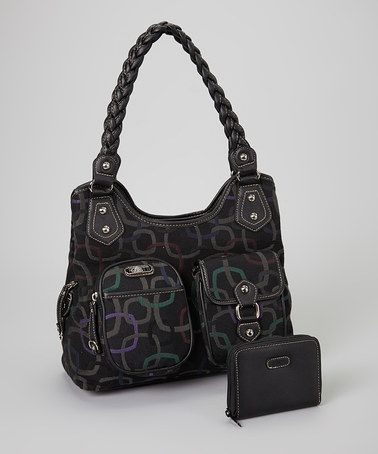 Another great find on #zulily! Raven Ready to Roll Tote & Wallet by Rosetti #zulilyfinds, $27 !!