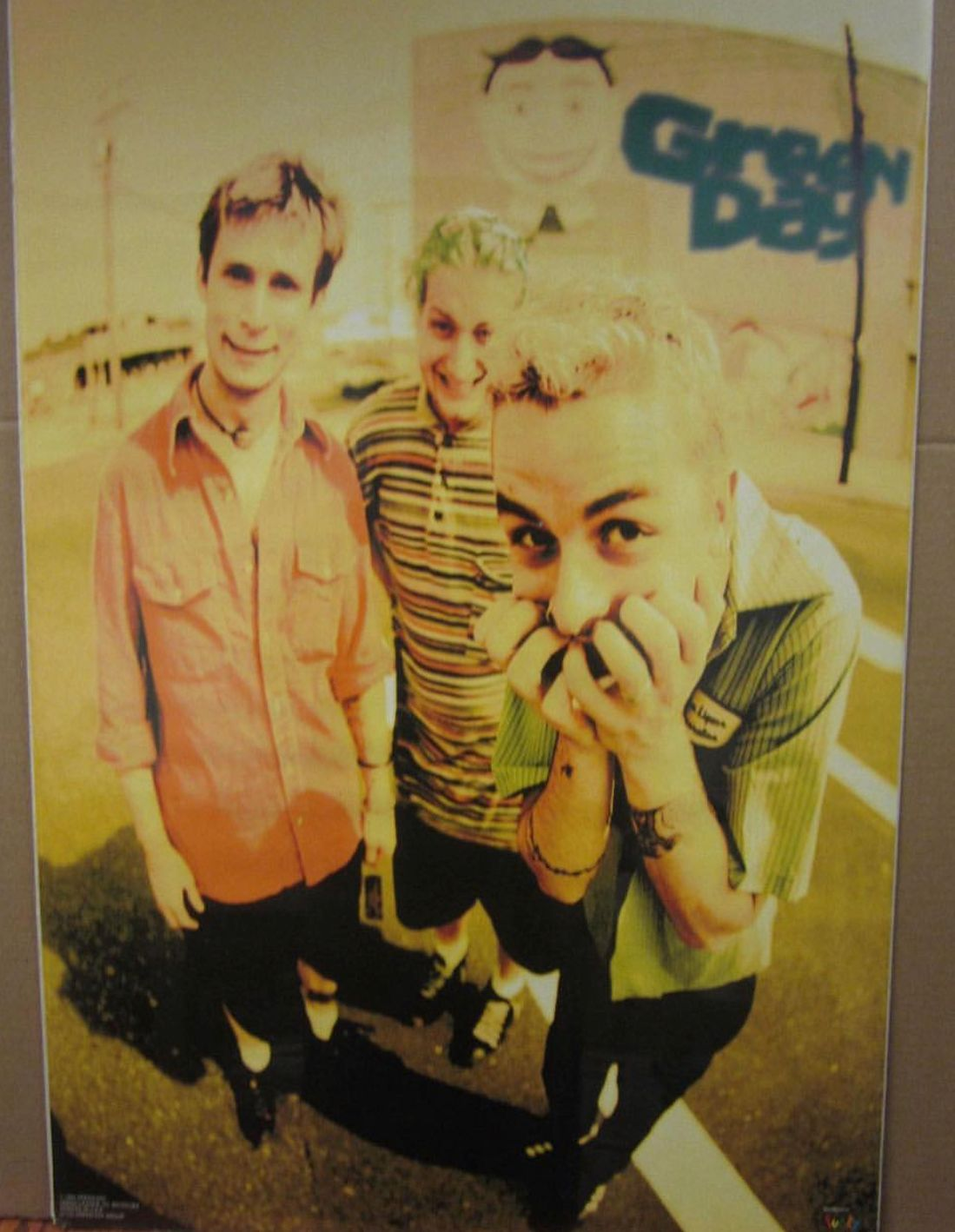 Old Green Day Poster