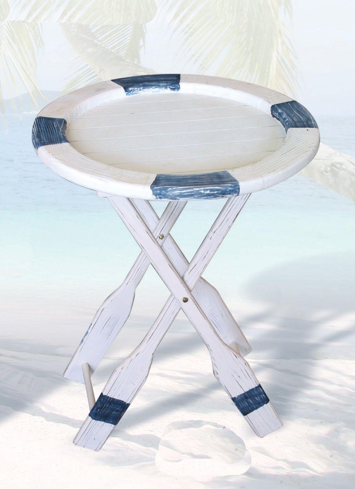 Nautical Life Ring Table