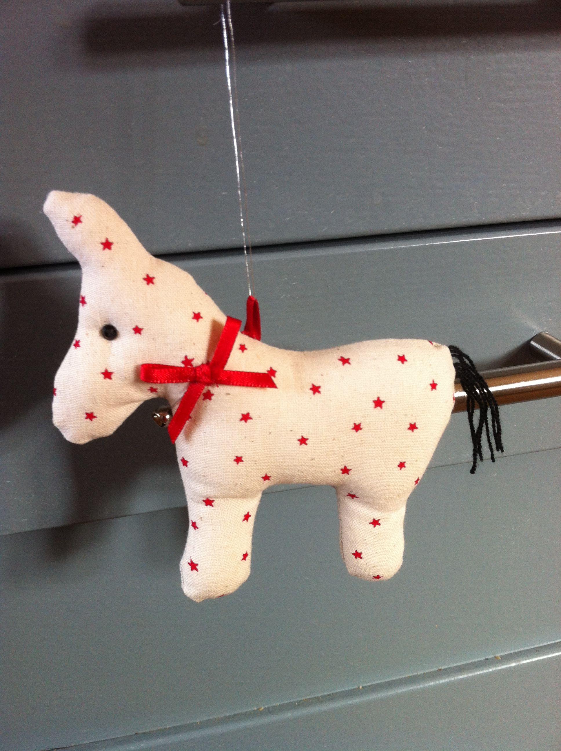 little donkey Christmas decoration