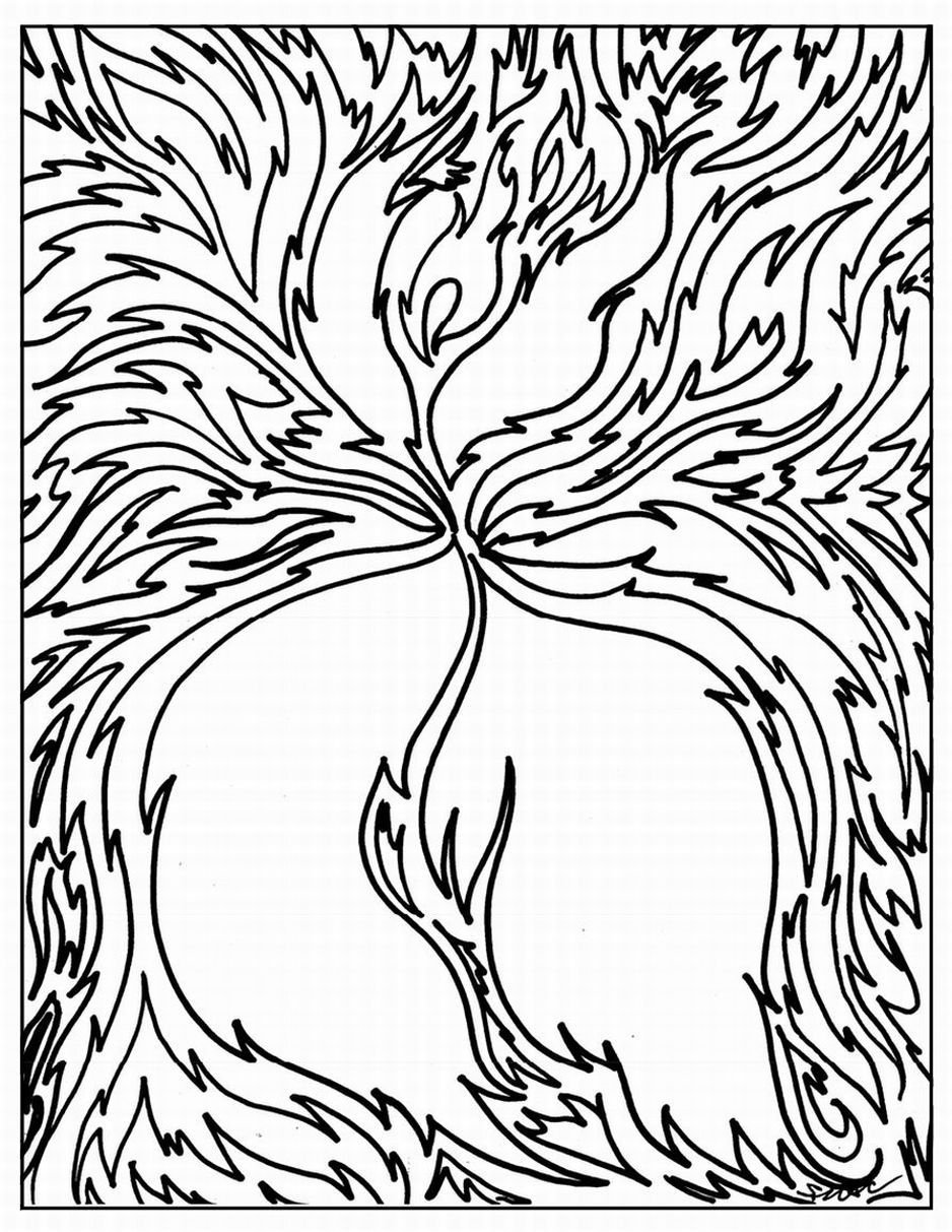 adult coloring pages Abstract Coloring Pages 3 Free