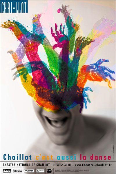 J'en Suis Fort Aise : Danse, Théâtre, National, Chaillot, Graphisme,, Affiche, Spectacle,, Poster