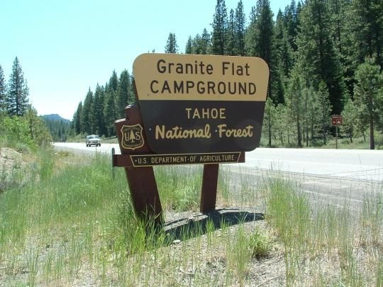 Granite Flat California Ca Campgrounds National