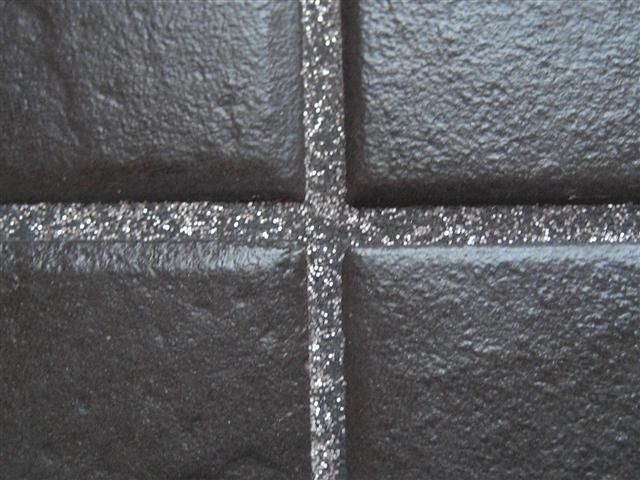 Grout Glitter Silver Or Gold Additive For Wall Or Floor