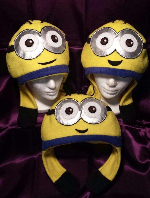 Minion Fleece Hats