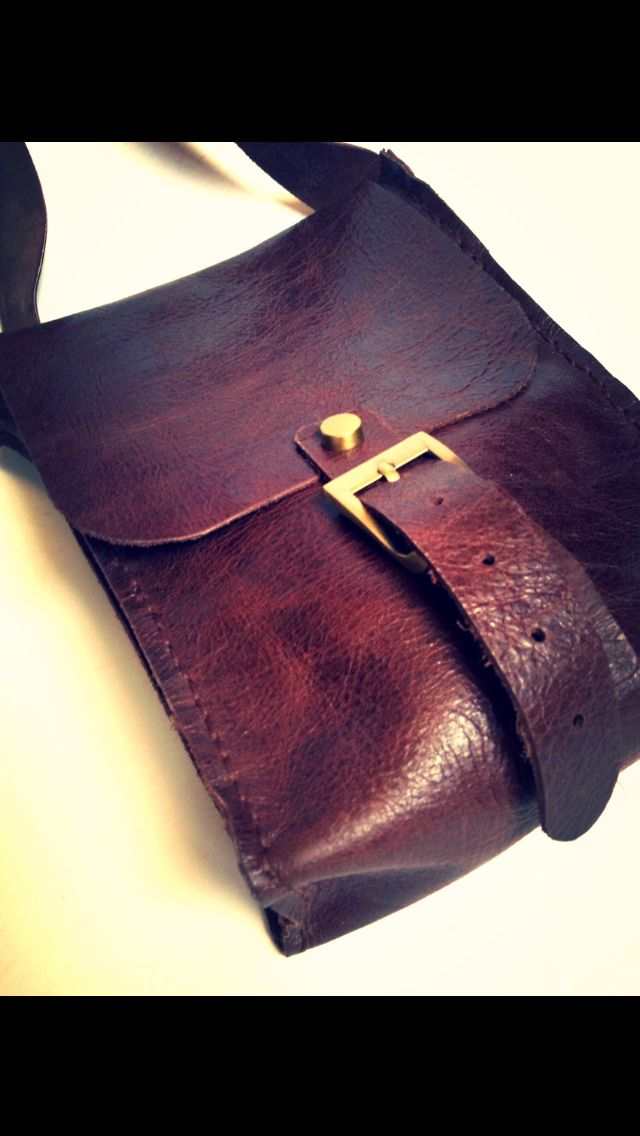 leather hand made Ayda charm