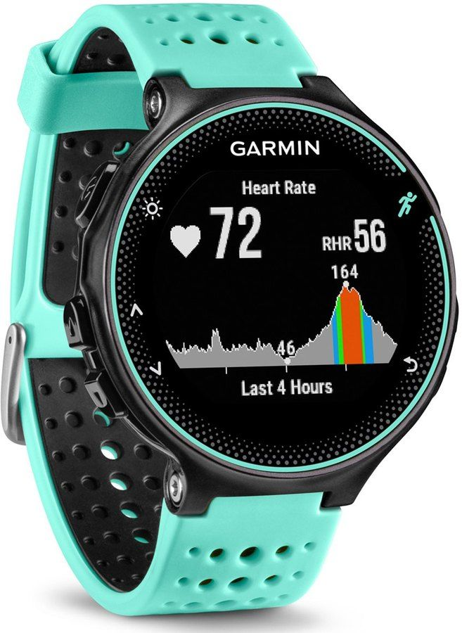 garmin 235 how to find run indoor on watch