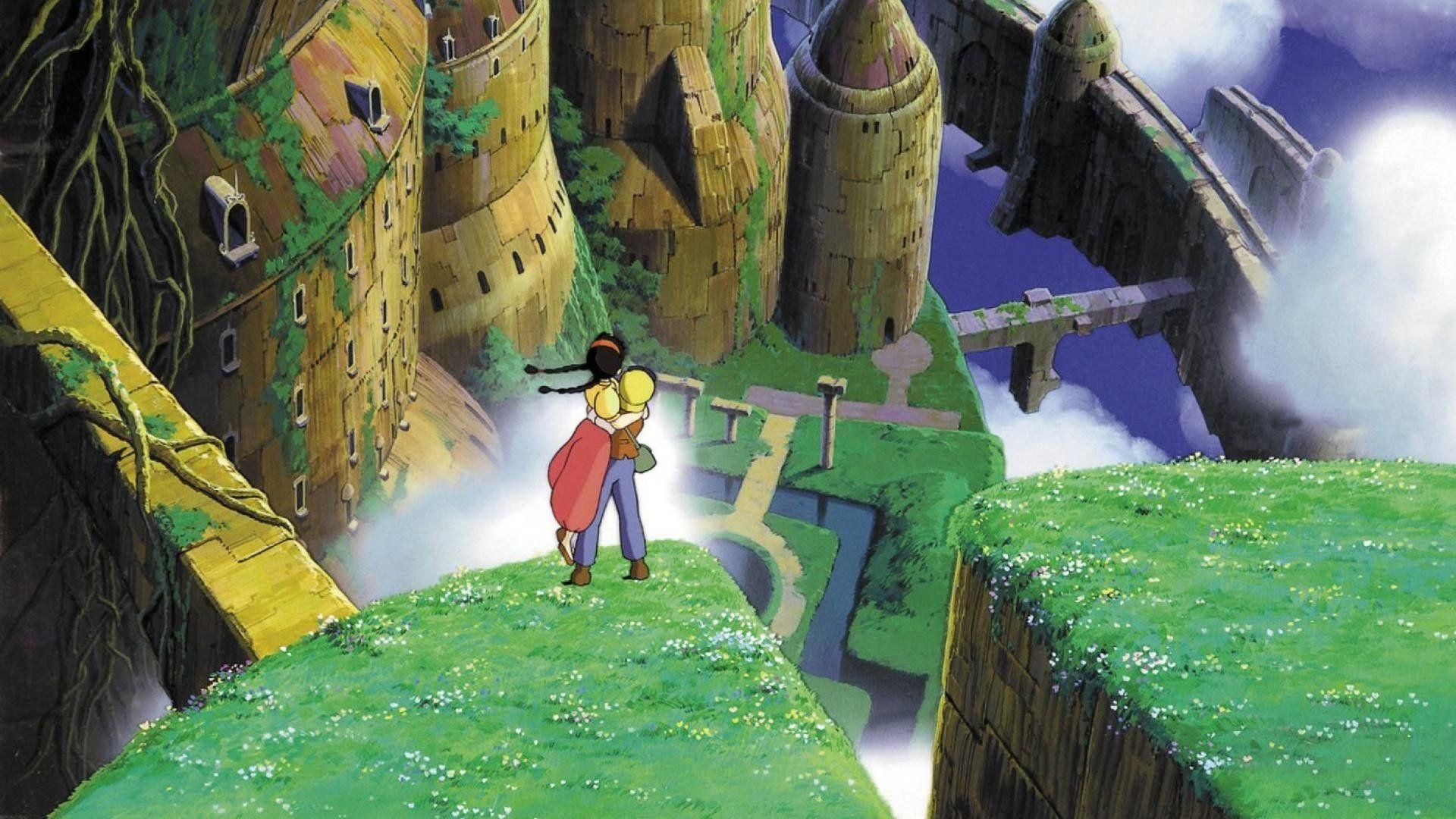 Movie Laputa Castle In The Sky Wallpaper Studio Ghibli Films