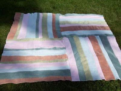 Como todo, las toallas cumplen un ciclo de vida. Ya sea que por roturas, manchas, o porque están un poco descoloridas nos deshacemos de e...