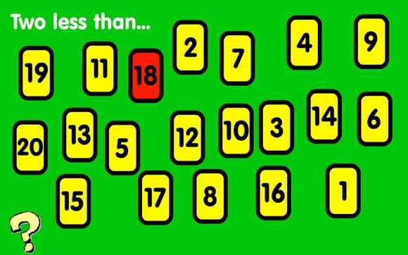 A Number Game Where You Need To Find Two Less Than A Number There