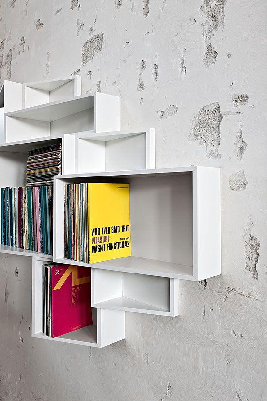 Kristalia Shelf Raf Sistemi Neotek Te Modern Bookcase Bookcase