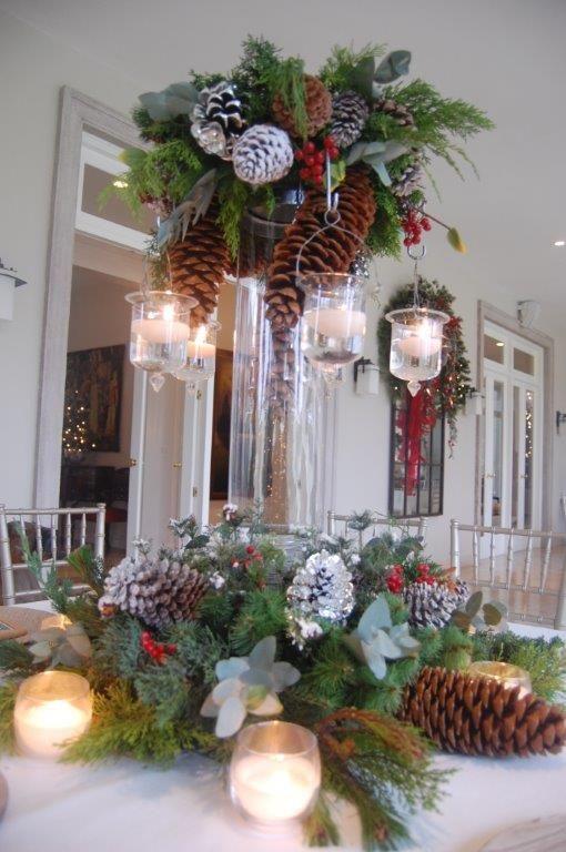 Pin de el armario hn en navidad en ea christmas wreaths - Decoracion navidad moderna ...